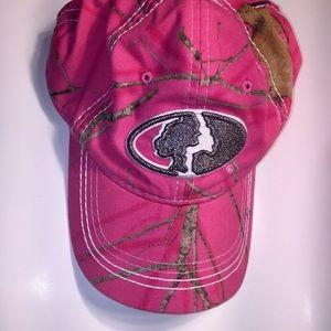 Mossy Oak Ballcap Hat Pink Camo Like New